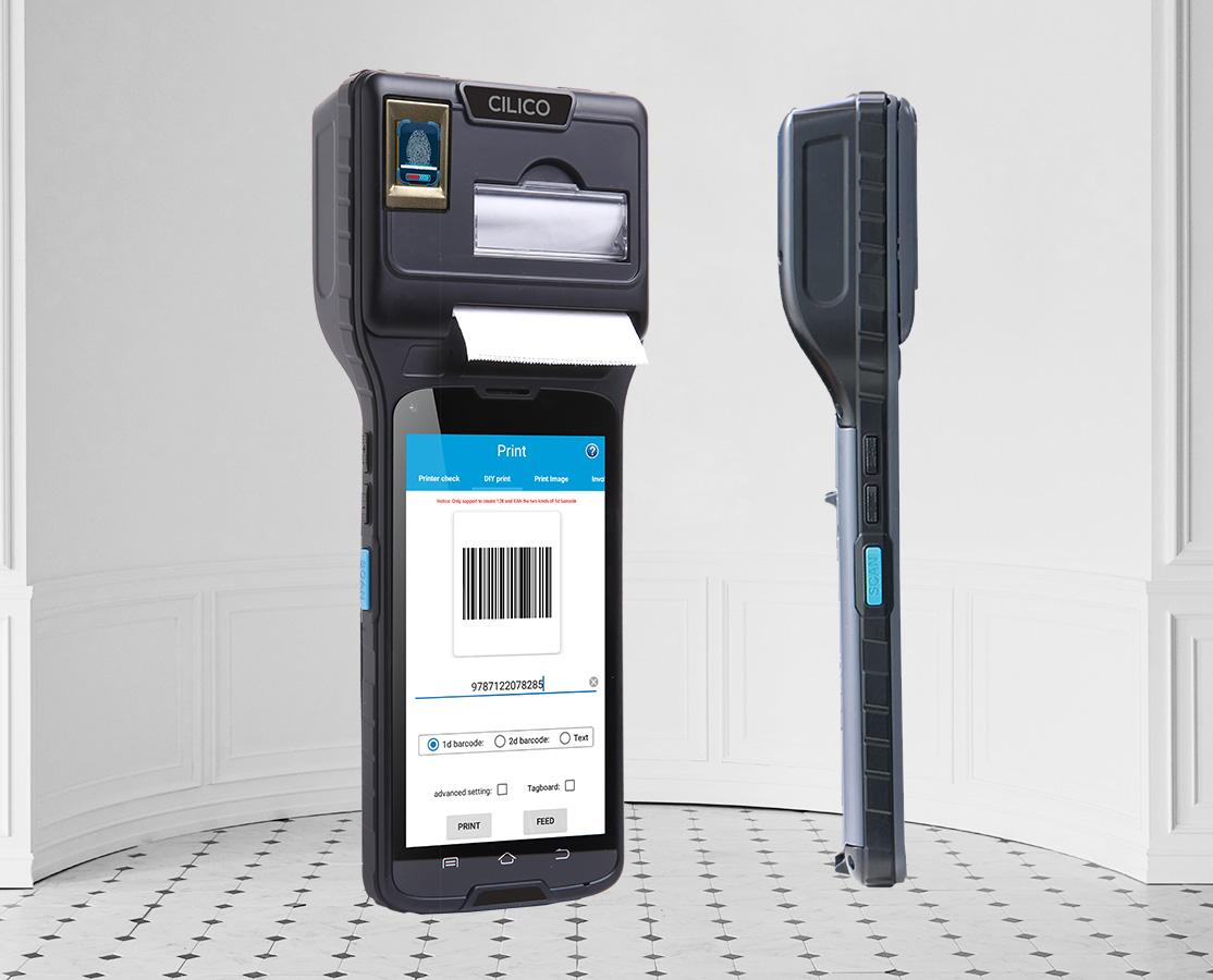 android imprimante integree pda smartphone